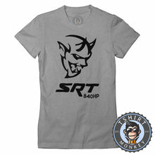 Load image into Gallery viewer, Challenger Demon SRT 840HP Tshirt Lady Fit Ladies 0038