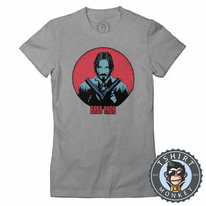 Baba Yaga Movie Inspired Vintage Style Tshirt Shirt Lady Fit Ladies 2375
