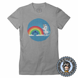 I Licked It And I Like It Funny Unicorn Graphic Tshirt Lady Fit Ladies 1124