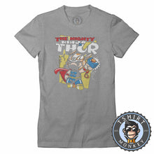 Load image into Gallery viewer, The Mighty Ninja Thor Inspired Cute Mashup Cartoon Tshirt Shirt Lady Fit Ladies 2366