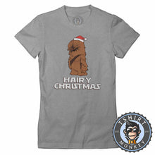Load image into Gallery viewer, Hairy Christmas Tshirt Lady Fit Ladies 1635