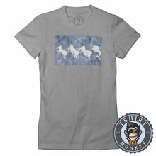 Load image into Gallery viewer, Crazy Funny Distorted Unicorn Funny Graphic Illustration Tshirt Lady Fit Ladies 1304