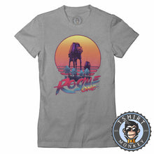 Load image into Gallery viewer, Rouge One Vintage Summer Tshirt Lady Fit Ladies 0225