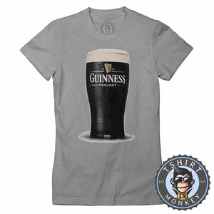 Iconic Irish Stout Tshirt Lady Fit Ladies 0237