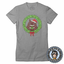 Load image into Gallery viewer, Wishing You A Merry Christmas Tshirt Lady Fit Ladies 2850
