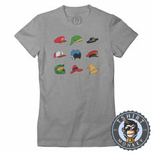 Load image into Gallery viewer, Top Classic Video Games Hat Gamer Tshirt Lady Fit Ladies 1305