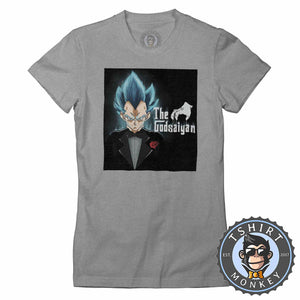 The God Saiyan Tshirt Lady Fit Ladies 0109