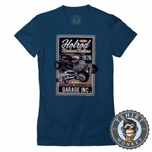 Load image into Gallery viewer, Hotrod Kustom Kulture V2 Vintage Car Inspired Halftone Poster Graphic Tshirt Lady Fit Ladies 1164