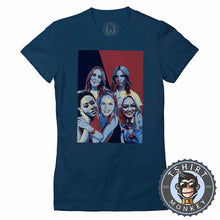 Load image into Gallery viewer, Spice Girls Pop Art Illustration Tshirt Lady Fit Ladies 0216