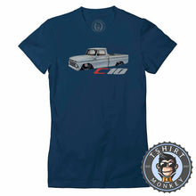 Load image into Gallery viewer, Classic American Pickup Truck Chevy C10 Hot Rod Tshirt Lady Fit Ladies 0016