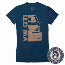Load image into Gallery viewer, VW Golf GTI Vintage Tshirt Lady Fit Ladies 0294