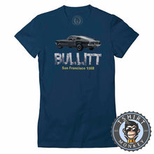 Load image into Gallery viewer, American Muscle Car Mustang Bullitt GT Tshirt Lady Fit Ladies 0010