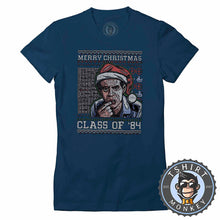 Load image into Gallery viewer, Merry Christ,mas Class of 84 Ugly Sweater Tshirt Lady Fit Ladies 2849