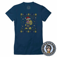 Load image into Gallery viewer, Chibi Thanos Ugly Sweater Christmas Tshirt Lady Fit Ladies 1671