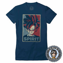 Load image into Gallery viewer, Son Gohan Spirit Pop Art Halftone Tshirt Lady Fit Ladies 0108