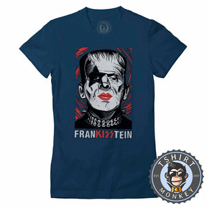 Frankisstein - Music Inspired Kiss Halloween Mashup Tshirt Lady Fit Ladies 1135