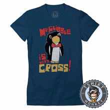 Load image into Gallery viewer, Red Dwarf Mr Flibble Is Very Cross Funny Cartoon Tshirt Lady Fit Ladies 1101
