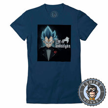 Load image into Gallery viewer, The God Saiyan Tshirt Lady Fit Ladies 0109