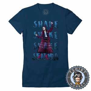 Shake Shake Shake Senora Vintage Statement Tshirt Lady Fit Ladies 1118