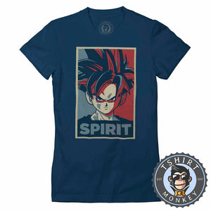Son Gohan Spirit Pop Art  Tshirt Lady Fit Ladies 0107