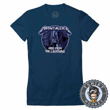 Load image into Gallery viewer, Meowtallica Tshirt Lady Fit Ladies 0236