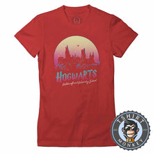 Load image into Gallery viewer, Hogwarts Inspired Vintage Summer Tshirt Lady Fit Ladies 0343