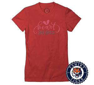 Heatbreaker Cool Valentines Day Graphic Tshirt Lady Fit Ladies 3286