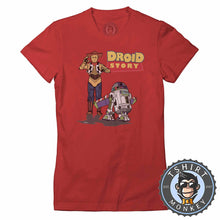 Load image into Gallery viewer, Droid Story Tshirt Lady Fit Ladies 0197