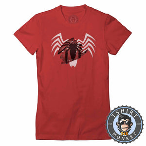 Spider-Man Brushed Color Reveal Tshirt Lady Fit Ladies 0015