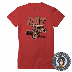 Rot Rods No Guarantee Tshirt Lady Fit Ladies 0035