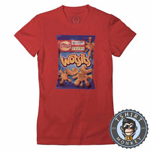 Load image into Gallery viewer, Wotsits Tshirt Lady Fit Ladies 0253