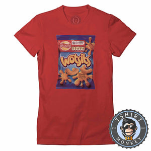 Wotsits Tshirt Lady Fit Ladies 0253