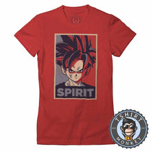 Load image into Gallery viewer, Son Gohan Spirit Pop Art  Tshirt Lady Fit Ladies 0107