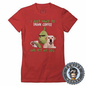 All I Need Is My Dog And My Coffee Tshirt Lady Fit Ladies 2987