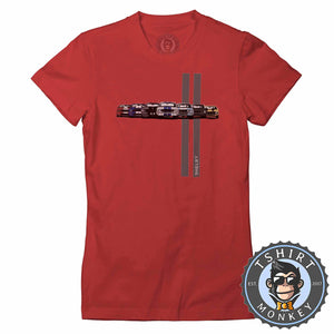 Chevy Shelby Camaro Super Car Tshirt Lady Fit Ladies 0024
