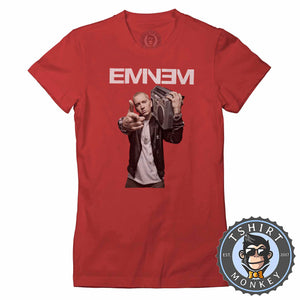 Eminem Tshirt Lady Fit Ladies 0128