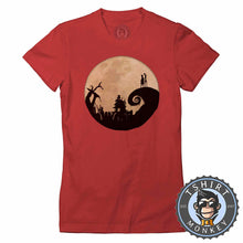 Load image into Gallery viewer, Jack And Sally - Christmas Halloween Movie Inspired Tshirt Lady Fit Ladies 1058