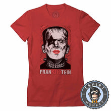 Load image into Gallery viewer, Frankisstein - Music Inspired Kiss Halloween Mashup Tshirt Lady Fit Ladies 1135