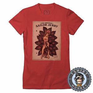 Sailor Jerry Halftone Tshirt Lady Fit Ladies 0234