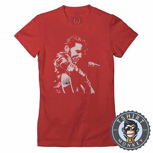 The King Is Here - Elvis Presley Tshirt Lady Fit Ladies 0075