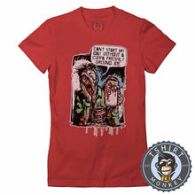 Load image into Gallery viewer, Can't Start My Day Without A Freshly Ground Joe Funny Comic Tshirt Lady Fit Ladies 1199