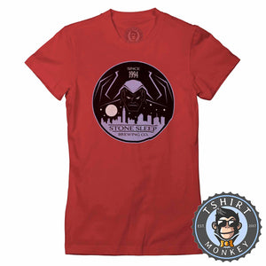 Stone Sleep Brewing Company Graphic Illustration Tshirt Lady Fit Ladies 1287