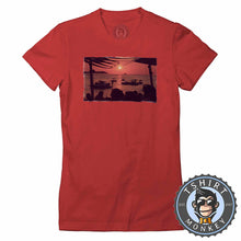 Load image into Gallery viewer, Cafe Mambo Inspired Illustration Tshirt Lady Fit Ladies 0250