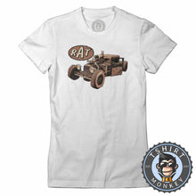 Load image into Gallery viewer, Rat-Welder Up  Tshirt Lady Fit Ladies 0032