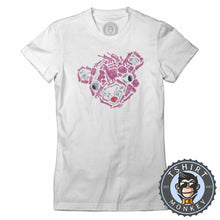 Load image into Gallery viewer, Cuddle Team Abstract Tshirt Lady Fit Ladies 0305