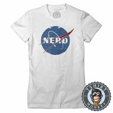 Load image into Gallery viewer, Glitchy Pixelated NERD NASA Inspired Meme Funny Tshirt Lady Fit Ladies 1061