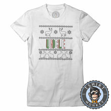 Load image into Gallery viewer, Uncle Colored Ugly Sweater Christmas Tshirt Lady Fit Ladies 1675