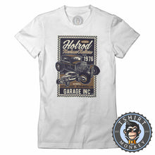 Load image into Gallery viewer, Hotrod Kustom Kulture V1 Vintage Car Inspired Poster Graphic Tshirt Lady Fit Ladies 1161