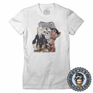 Ogabel Tattoo Street Popeye Inspired Tshirt Lady Fit Ladies 0061