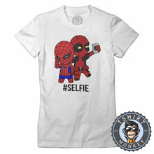 Load image into Gallery viewer, Hashtag Selfie Tshirt Lady Fit Ladies 0154